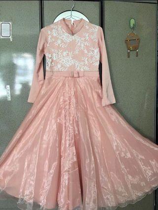 Jubah Raya Princess Dress