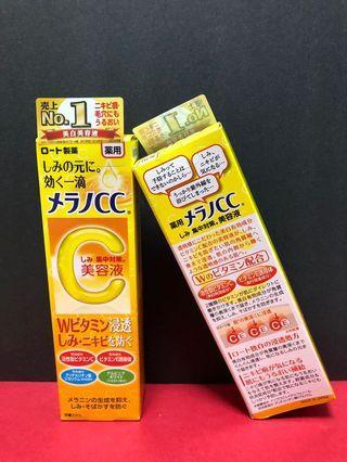 😊👉🏻✨日本ROHTO樂敦CC美白淡斑去痘印精華液