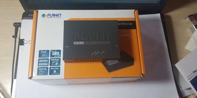 Solusi PoE Gigabit Ethernet Extender : PLANET POE-E201