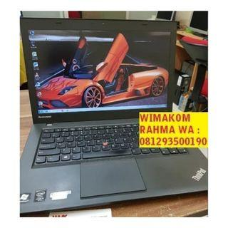Murah Laptop Thinkpad T440 Core I5 Haswel Ram 8gb SSD 240GB SECOND 14""