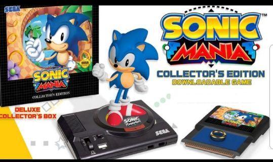 Nintendo Switch Sonic Mania Collectors Item
