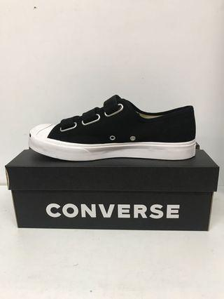 CONVERSE JACK PURCELL 3VELCO OX BLACK/WHITE