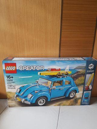 Lego 10252 Volkswagen Beetle (crease box)