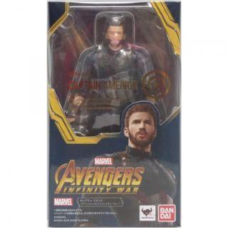 🚚 [Original/Authentic] S.H. Figuarts Avengers Infinity War: Captain America