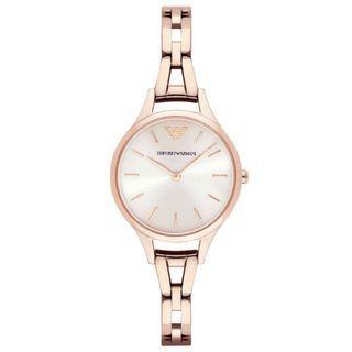 NEW Emporio Armani AR11055 Bracelet Stainless Steel Ladies Watch (Rose Gold)