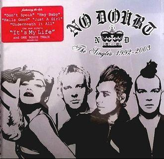 arthcd NO DOUBT The Singles 1992-2003 CD