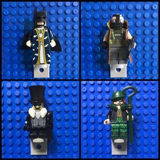 Batman/Supervillian Minifigures