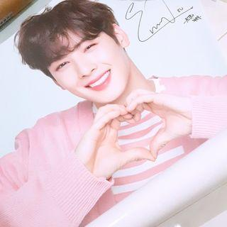 ASTRO Eunwoo angelkiss poster official