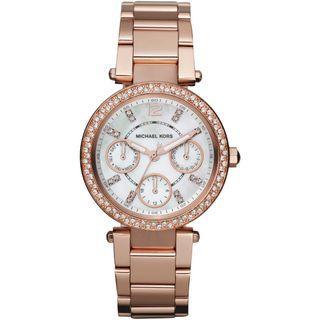 NEW Michael Kors MK5616 Women's Parker Multi-Function Rose Gold-tone Ladies Watch
