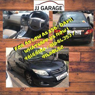 JJGarage Car Rental Services