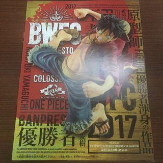 One Piece BWCF 路飛 海賊王 日版