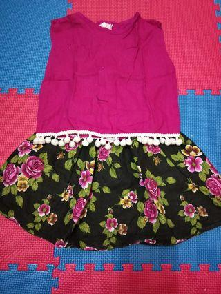 Set pink dress #BAPAU