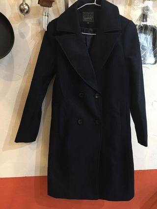 🚚 深藍西莊長外套