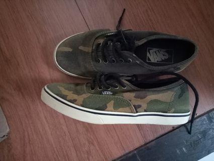 vans army rare item