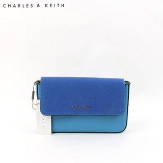 SAG6012 Blue Charles & Keith Waist Pouch