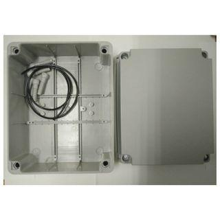 (250mm x 200mm)  Waterproof PVC Electric / Weatherproof Electronic Project Enclosure Junction Box / Case