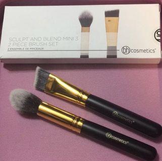 🌼SALE🌼BH Cosmetics Sculpt And Blend Mini Brush Set - 2 Piece