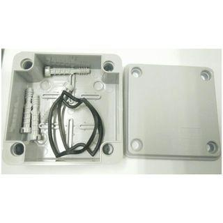 (110mm x 110mm x 60mm)  Waterproof PVC Electric / Weatherproof Electronic Project Enclosure Junction Box / Case