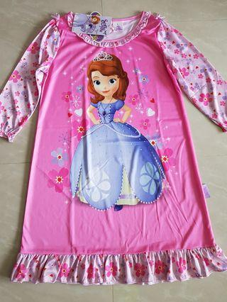 🚚 Stock Clearance - Brand New Sofia the First Nightie Dress