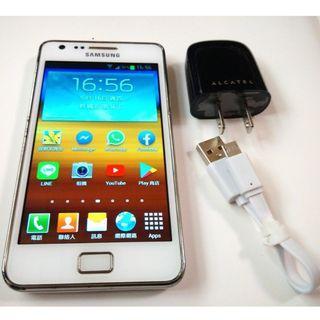 <二手良品螢幕無刮傷>白SAMSUNG GALAXY S2 i9100 32G版本 800萬相機 功能正常 只要1200