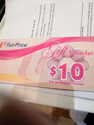 🚚 Ntuc voucher value $70 for only $50