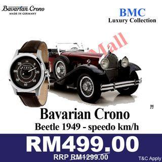 Bavarian Crono Beetle 1949 - speedo km/h