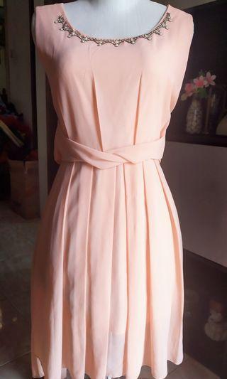 #Bapau dress peach