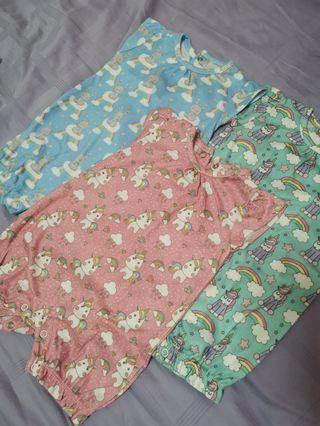 🚚 Baby girl rompers