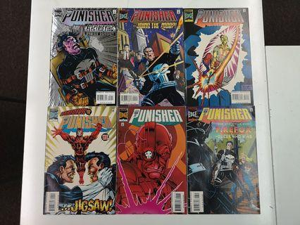 🚚 Punisher Condemned (1995-1997 3rd Series) Comics Set