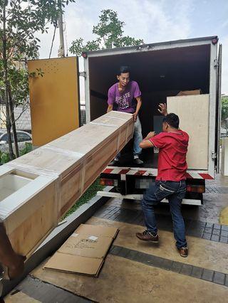 Lori sewa 2tan box lorry rental mover transport klang valley KL puchong