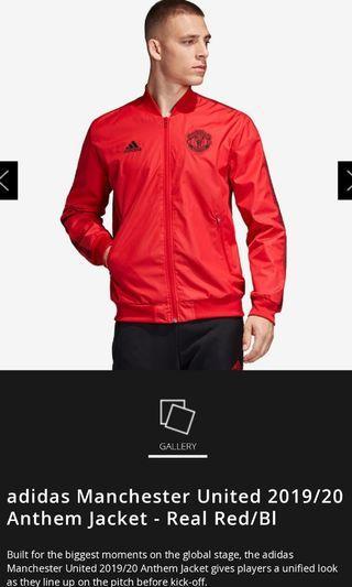 Manchester United 19/20 Adidas anthem Jacket