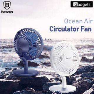 Baseus Mini USB Rechargeable Air Cooling Fan Clip Desk Fan