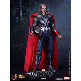 🚚 Hot Toys The Avengers Thor (Limited Edition)