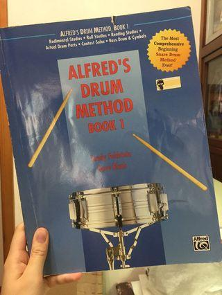 Alfred's drum method book 小鼓教課書