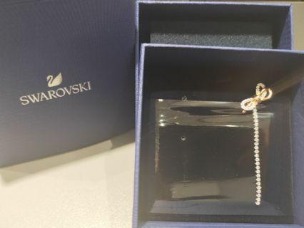 Swarovski蝴蝶長耳環