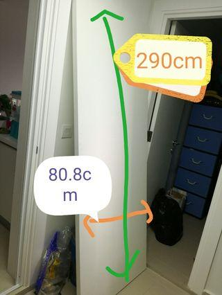 Brand New White wooden door