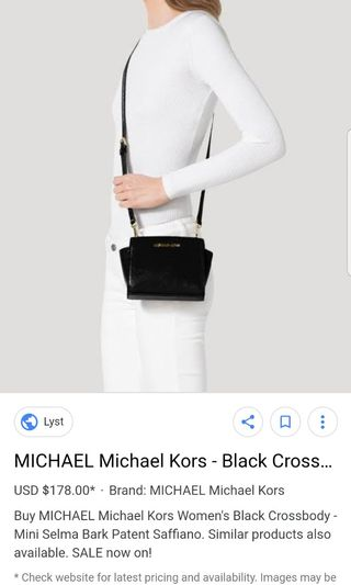 98a2551ae6c7 michael kors sling bag | Clothes | Carousell Philippines