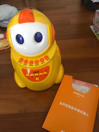 Talking robot Chinese learning