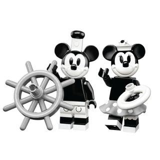 LEGO Disney 2 minifigures 71024 Classic Black & white Mickey & Minnie