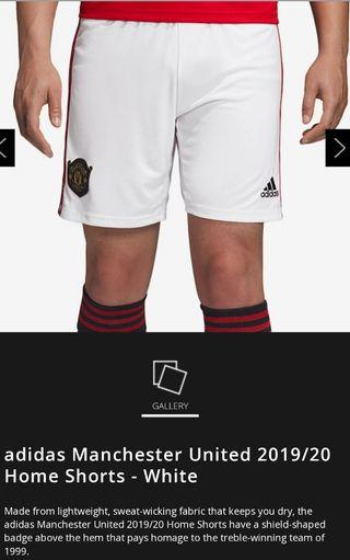 Manchester United 19/20 home short