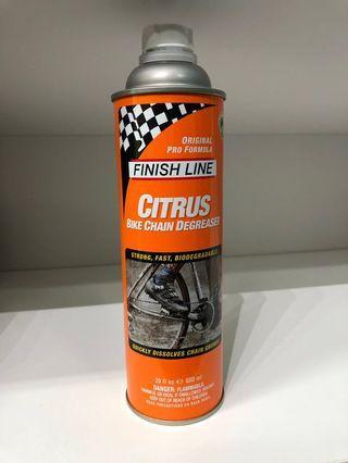New: Finish Line 600ml Citrus Bike Chain Degreaser