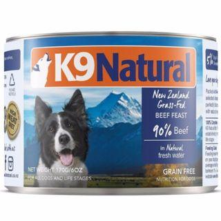 K9 Natural – Beef Canned Dog Food, 170g
