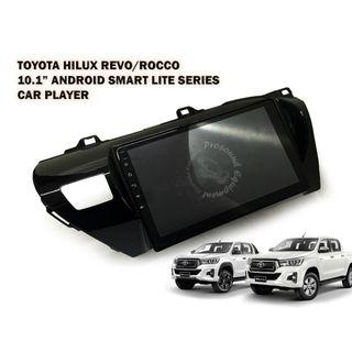 OTONAVI TOYOTA HILUX REVO/ROCCO 10.1'' ANDROID SMART LITE SERIES CAR PLAYER WITH CASING