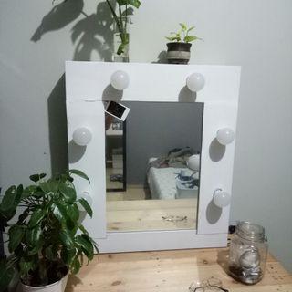 Vanity mirror (cermin berlampu) #vanitymirror #mauvivo