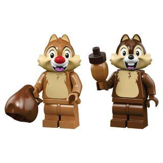 LEGO Disney 2 minifigures 71024 Chip 'n' Dale