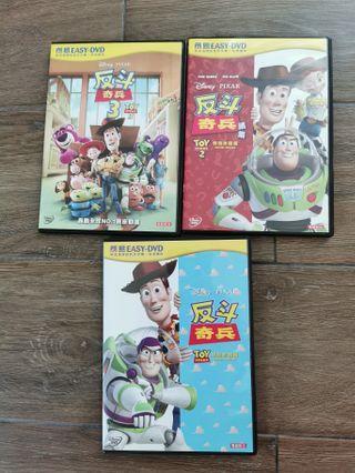 反斗奇兵 toy story DVD Disney