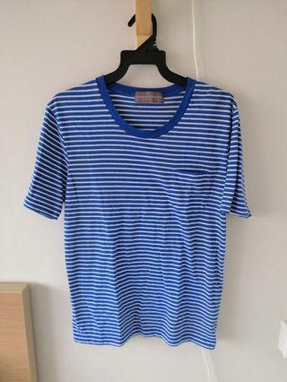 Mens Lowrys Farm Striped T-Shirt