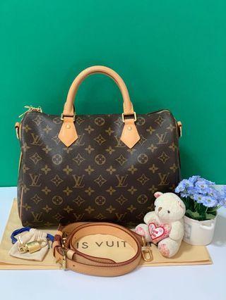 Louis Vuitton Speedy 30 Bandouliere