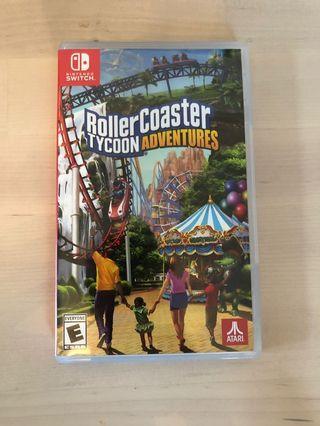 模擬遊樂場 Roller Coaster Tycoon adventures