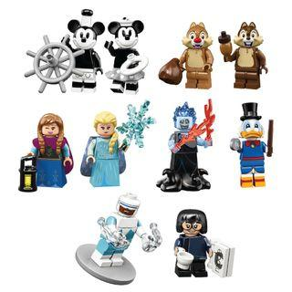 LEGO Disney Series 2 minifigures 71024 Bundle (10 minifigures)